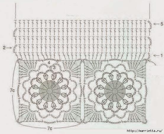 Сумочка и шарфик крючком для маленькой модницы (3) (555x454, 173Kb)
