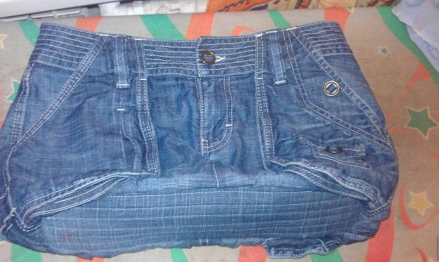 Мк сумка из старых джинсов