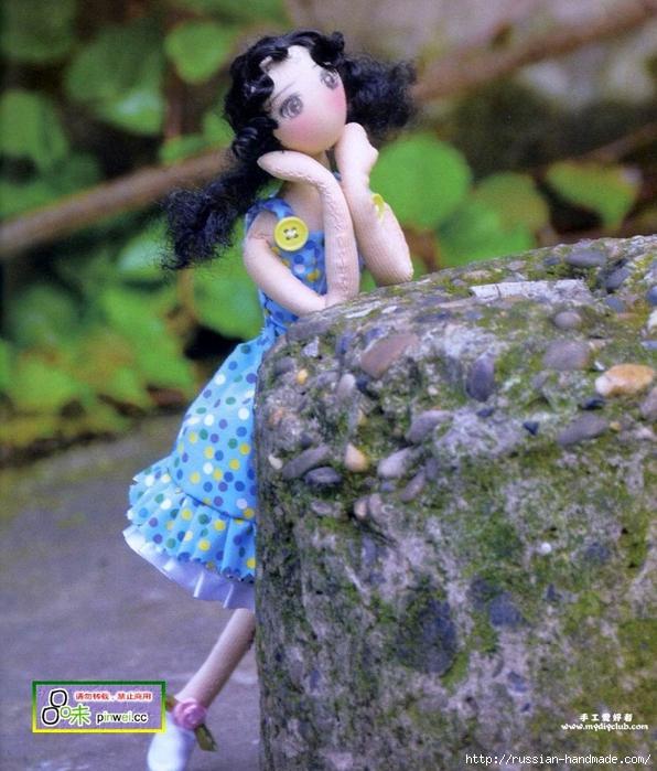 Как сшить сарафан для куклы тильды (2) (596x700, 345Kb)