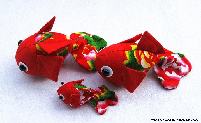 Золотая японская рыбка. Выкройка (5) (690x423, 173Kb)