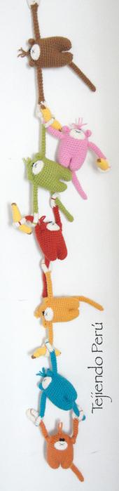 Вязание крючком озорных обезьянок. Описание (12) (170x700, 125Kb)