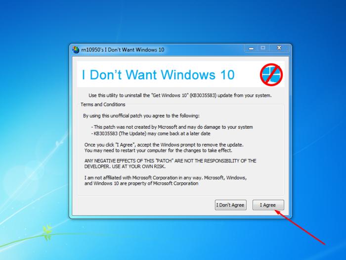 как удалить предложение об обновлении до windows 10 на windows 8.1