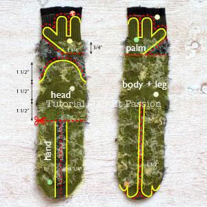 Шьем игрушки из носков. ЧЕРЕПАШКИ НИНДЗЯ (11) (300x300, 100Kb)
