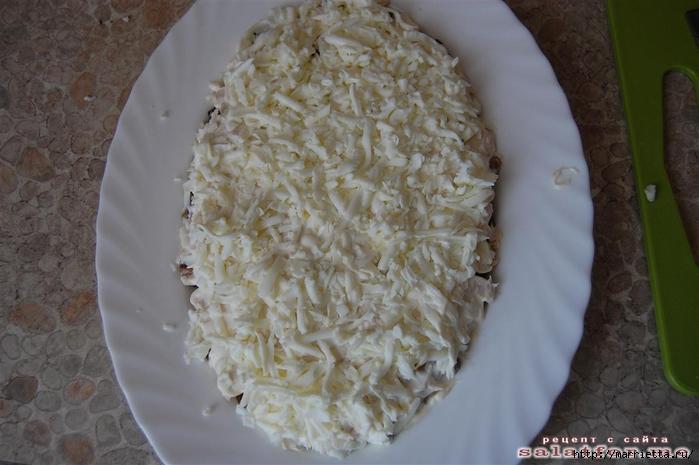 Нежный салат БЕРЕЗКА. Рецепт (11) (700x465, 222Kb)