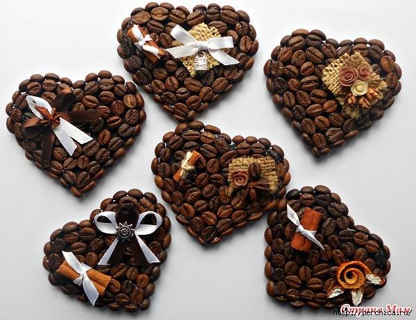 Магниты из кофе своими руками