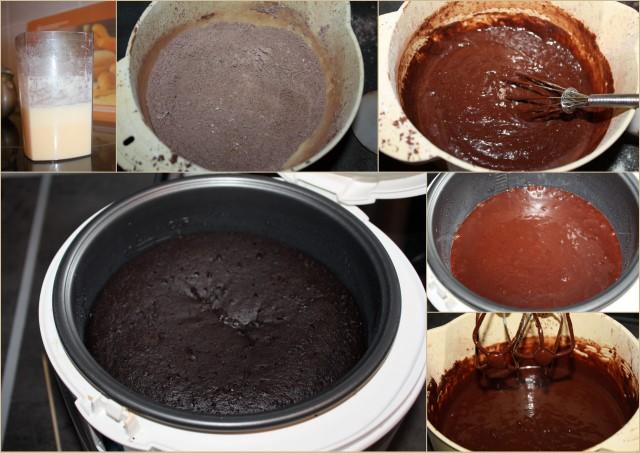 Рецепт брауни шоколадного в мультиварке