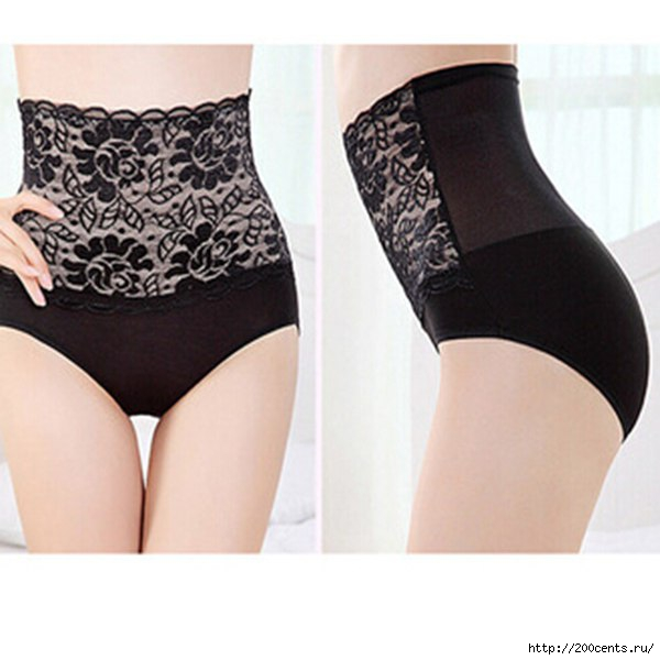 HOT Sale New Modal High Waist Briefs Underwear Fashion Women Girls Lady Underpants Sexy Lace Shaper Butt Buttock/5863438_HOTSaleNewModalHighWaistBriefsUnderwearFashionWomenGirlsLadyUnderpantsSexyLaceShaper (600x600, 117Kb)