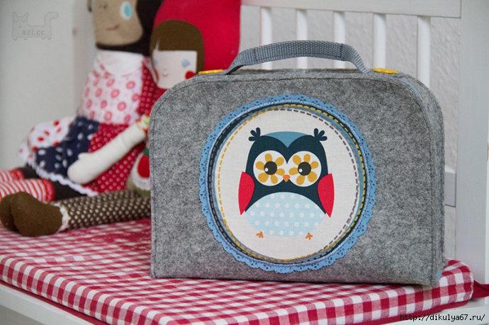 Как сшить детский чемоданчик для мелочей.. Обсуждение на Блоги на Труде