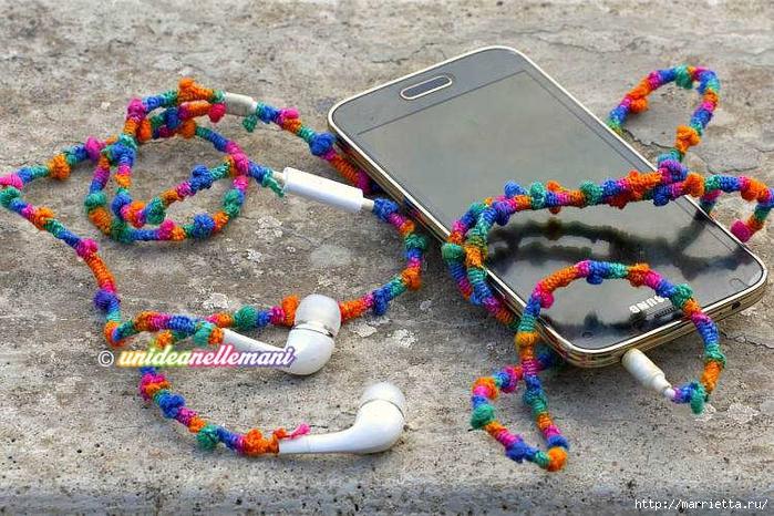 耳机线的装饰 - maomao - 我随心动