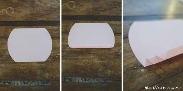 Гирлянда из сердечек для оформления свадебного торжества (3) (604x300, 69Kb)