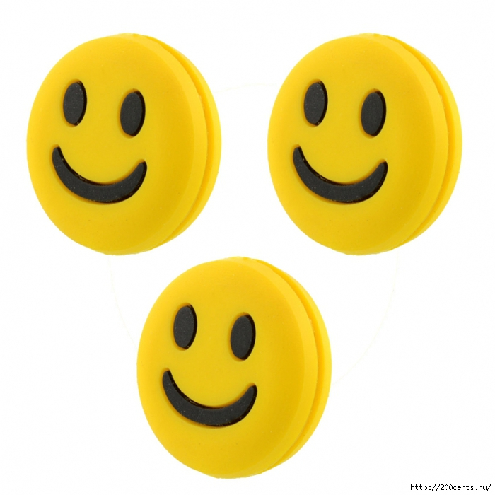 Cute Mini 3pcs Silicone Rubber Smile Smiling Face Shock Vibration Dampener Absorber for Sports Tennis Racket/5863438_CuteMini3pcsSiliconeRubberSmileSmilingFaceShockVibrationDampenerAbsorberforSportsTennisRacket (700x700, 210Kb)