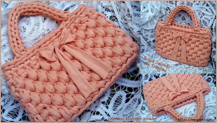 Вязание трикотажными полосками. Три сумочки со схемами (9) (700x396, 335Kb)