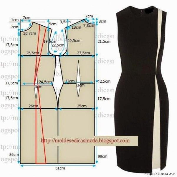 Выкройки деловой стиль платье