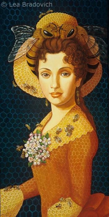 19th-century-queen-bee (352x700, 353Kb)