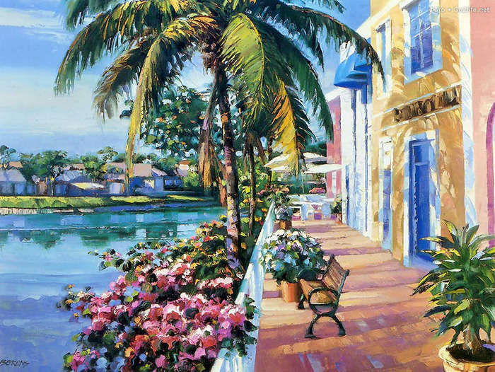 художник Говард Беренс картины 2 (700x526, 605Kb)