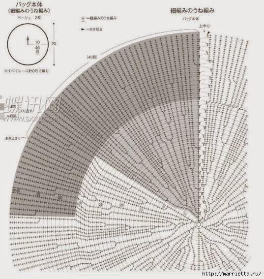 Вязание крючком. Летние сумочки с цветами (14) (537x567, 220Kb)