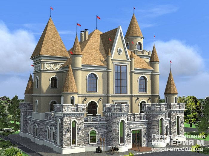 3. Готовый проект мини-гостиницы Сказочный замок (700x525, 379Kb)