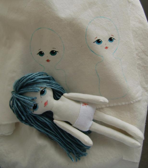 Сшить куклу своими руками выкройки фото