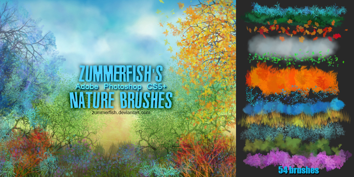 zummerfish_s_nature_brushes_by_zummerfish-d601e4q (700x350, 415Kb)