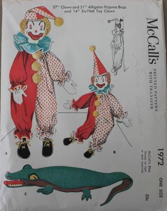 40s-vintage-sewing-patterns-lot-stuffed-toys-animals-clown-dolls-weiner-dogs-Laurel-Leaf-Farm-item-no-s2111-2Р° (334x422, 120Kb)