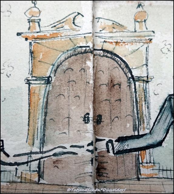 Дюссельдорф, дверь 1940 года