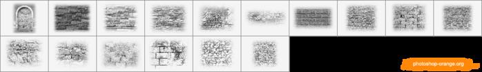 Кирпичные стены (700x105, 61Kb)