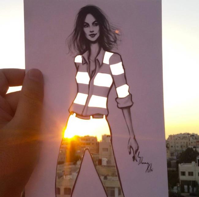 идеи для модного дизайна одежды Shamekh Bluwi 1 (650x642, 227Kb)
