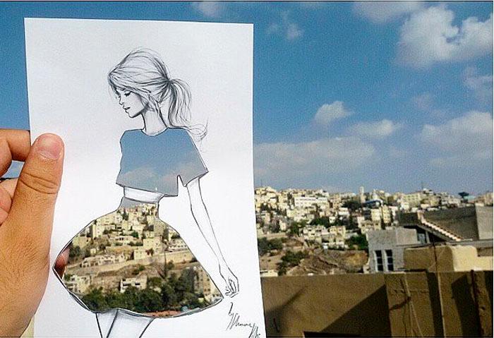 идеи для модного дизайна одежды Shamekh Bluwi 4 (700x479, 312Kb)