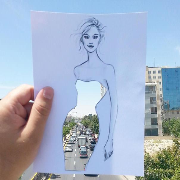 идеи для модного дизайна одежды Shamekh Bluwi 6 (605x605, 154Kb)