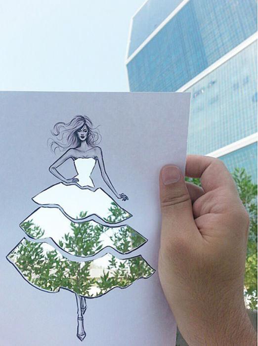 идеи для модного дизайна одежды Shamekh Bluwi 8 (522x700, 190Kb)