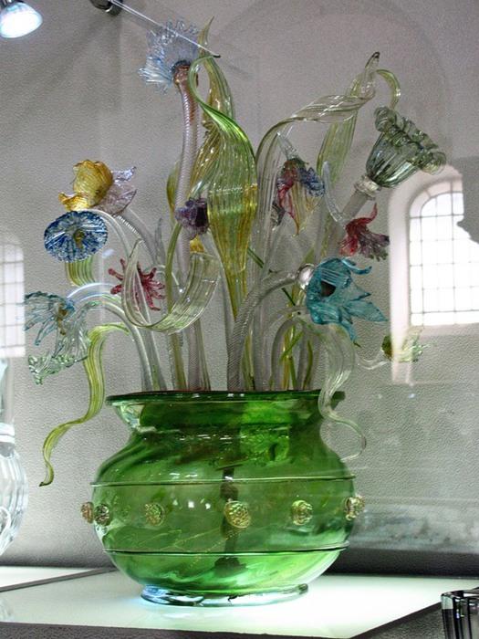 Цветы из хрусталя