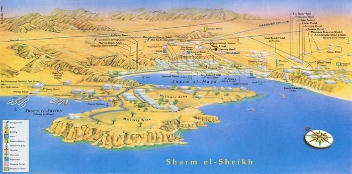 Фото-путешествие в Шарм-Эль-Шейх