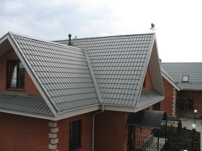 Покрытия для крыши - кровля из металлочерепицы 2 (700x525, 91Kb)