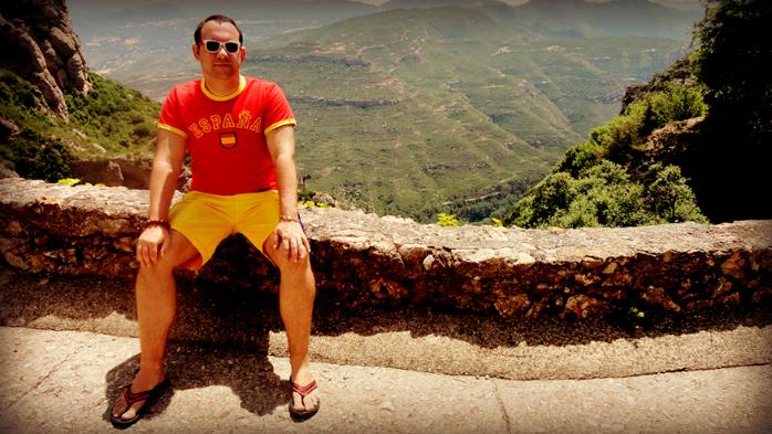 Испания, гора Монтосеррат, DJ Сергей Обломов (700x393, 316Kb)