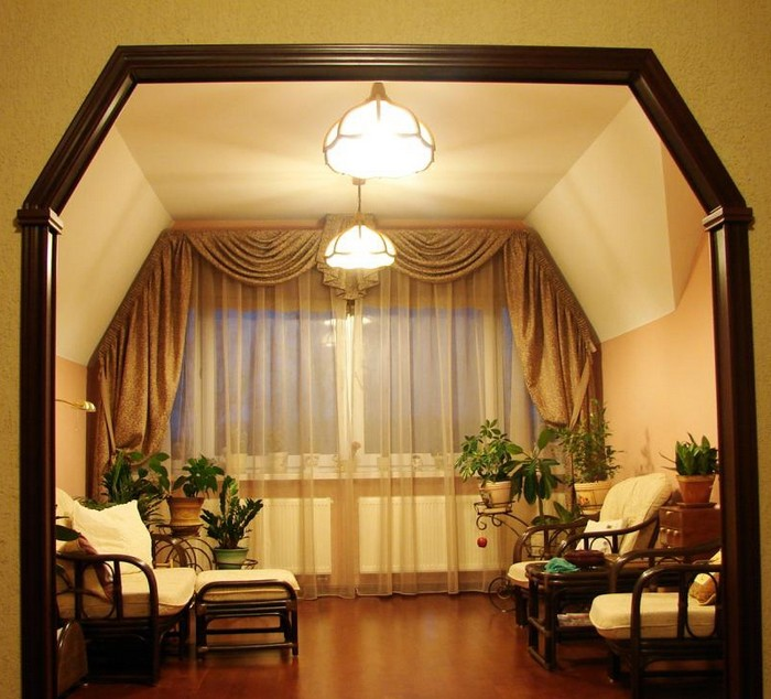 Дверные арки в интерьере дома