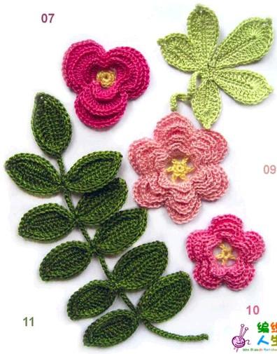 Вязаные крючком красивые цветы со схемами/4683827_20120712_221157 (396x505, 68Kb)