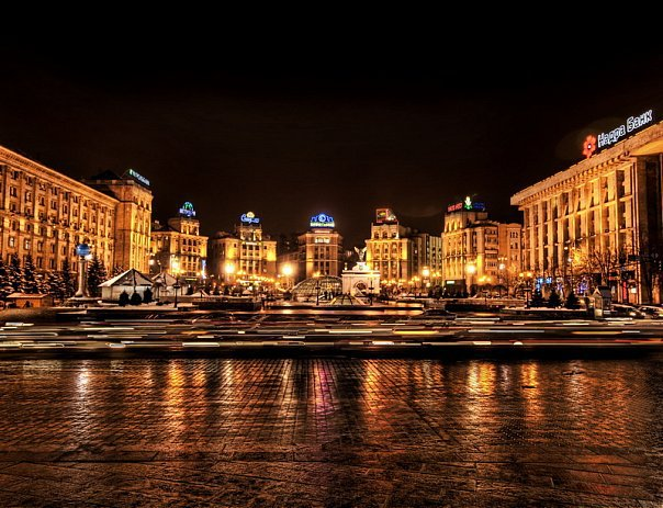 Kyiv by night (604x463, 76Kb)