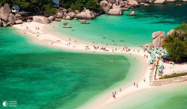 Остров Тао, Таиланд. Находится недалеко от острова Самуи. В переводе с тайского языка означает «Остров Черепах». (604x352, 48Kb)