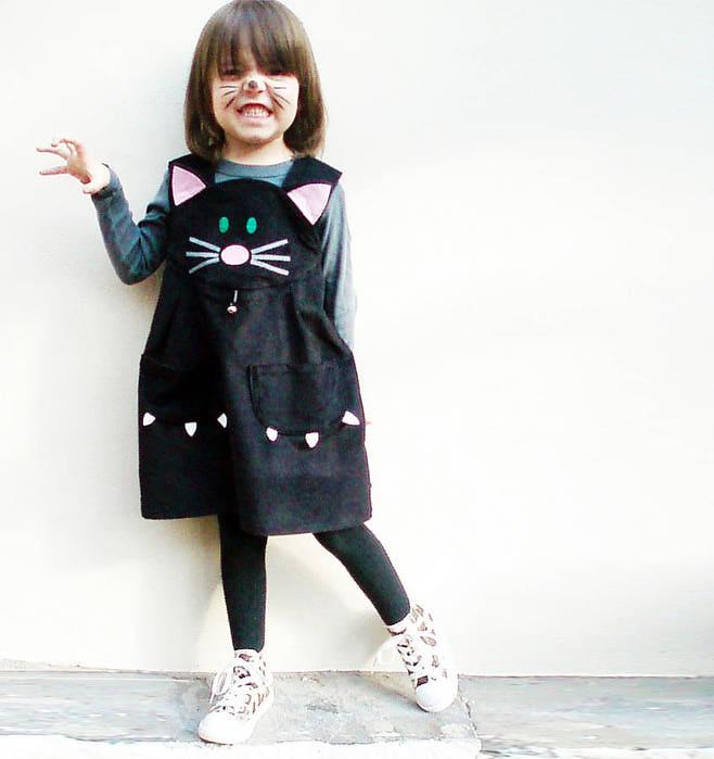 Оригинальное детское платье своими руками