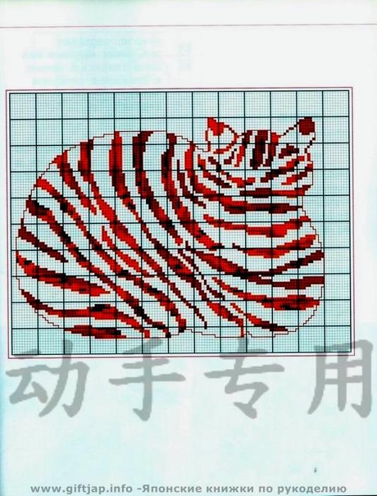 схема вышивки кошка 2 (532x700, 268Kb)
