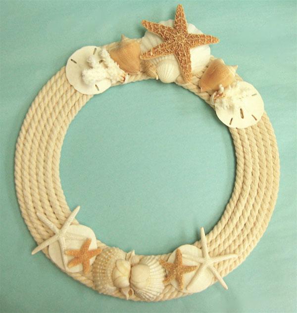 Морские ракушки поделки