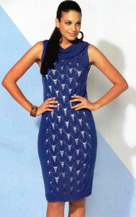 синее платье (440x700, 43Kb)