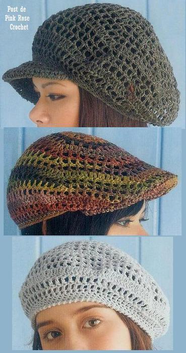 4043663_Boina_de_Croche_Crochet_Slouch_Hat__Pink_Rose (369x700, 61Kb)