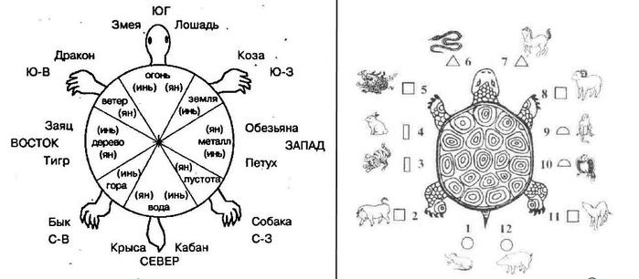 Вся Вселенная умещается на черепахе,Тибет,Китай (700x306, 75Kb)