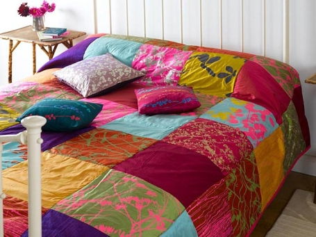 Лоскутные подушки своими руками