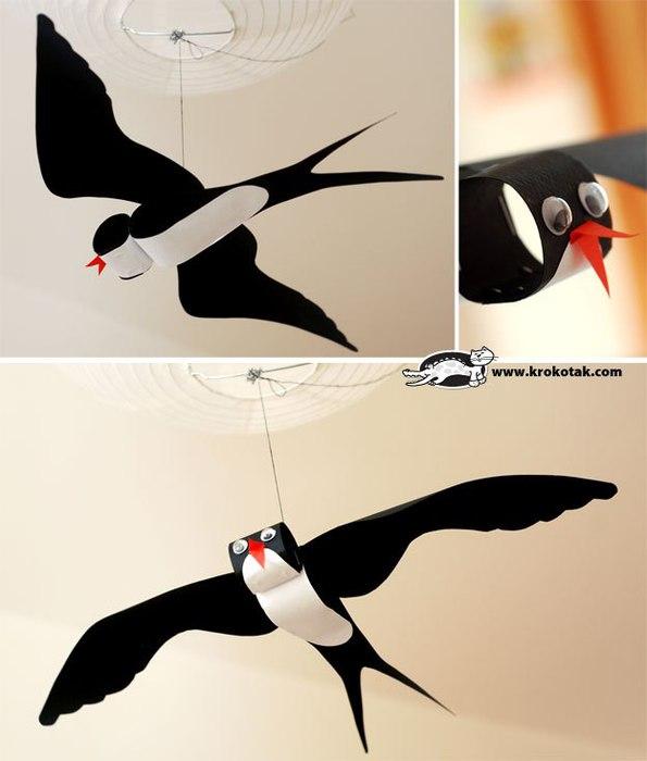 Перелетные птицы своими руками