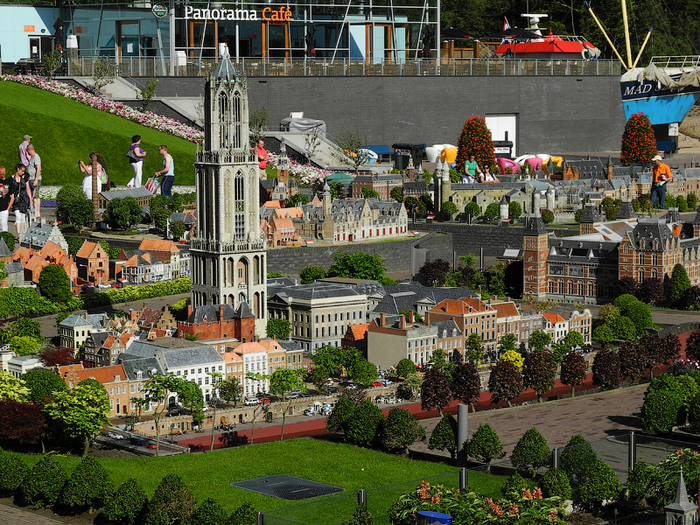 макет города Madurodam нидерланды (700x525, 584Kb)