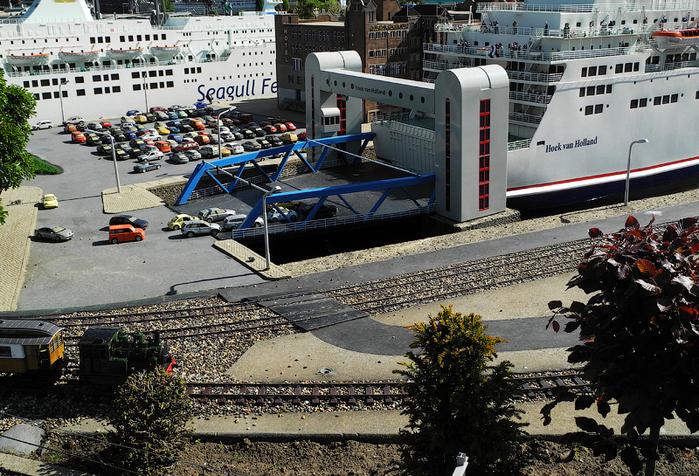 макет города Madurodam нидерланды 13 (700x476, 478Kb)