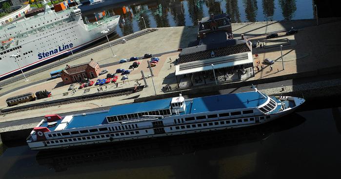 макет города Madurodam нидерланды 19 (700x368, 304Kb)