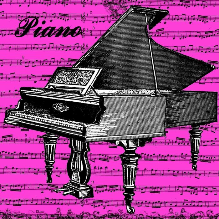 free vintage digi stamp_piano (700x700, 454Kb)
